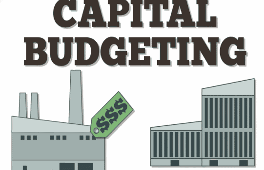 capital budgeting methods for corporate project There are various capital budgeting methods:  taking into account corporate  the next presents an advice of project change form: a capital expenditure.