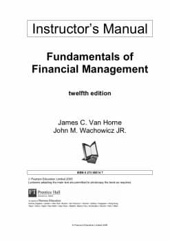 fundamental-of-financial-management-van-horne-instructors-manual