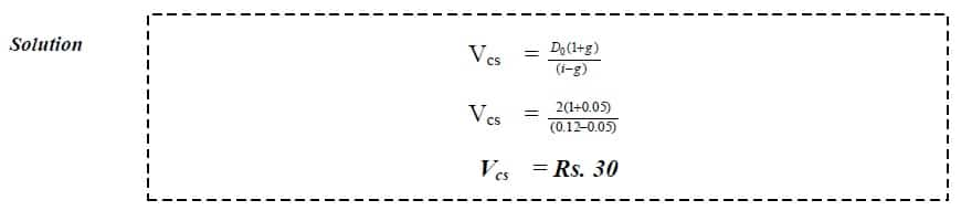 dividend discount model unlimited constant growth example