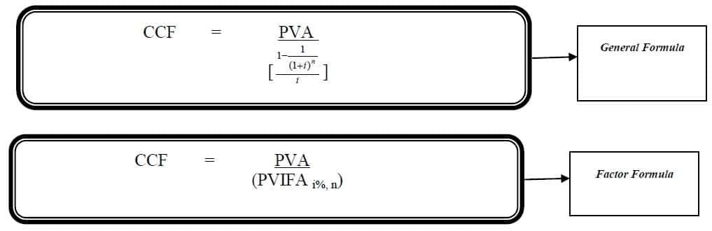 loan amortization formula