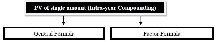 present value intra-year discounting