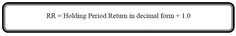 return relative formula