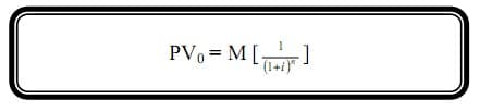 zero coupon bond formula