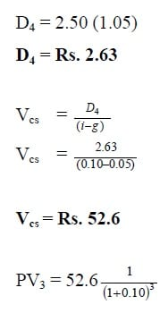 dividend discount model calculator